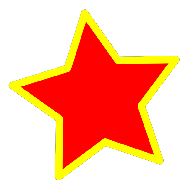 Thorny Star PNG Clip art