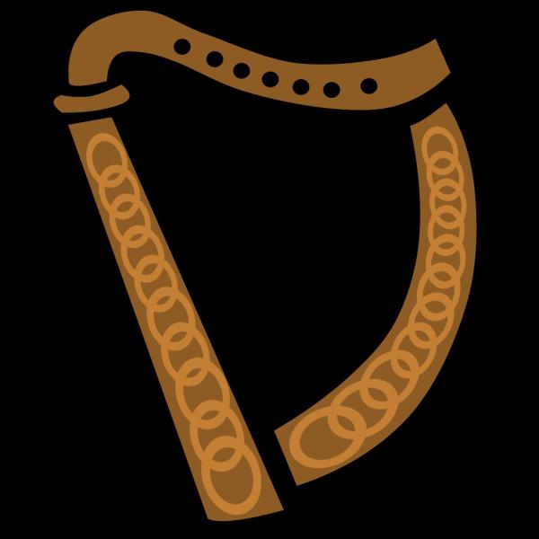 Celtic Harp PNG images