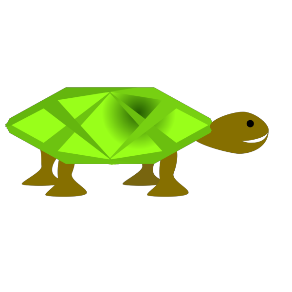 Turtle Shadow Art PNG images