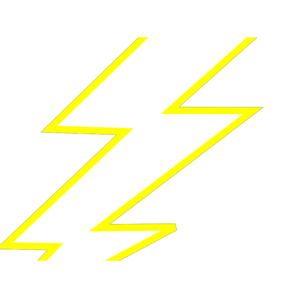 Lightning Bolt PNG Clip art