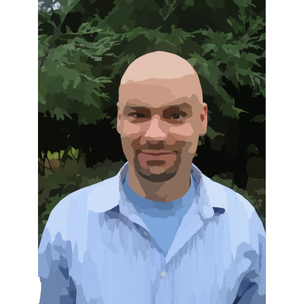 Man In Blue Shirt PNG image