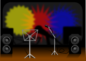 Music Stage PNG Clip art
