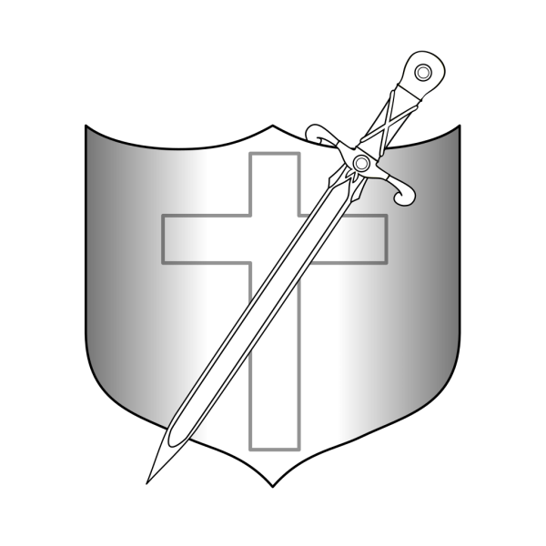 Jonadab Shield And Longsword PNG Clip art