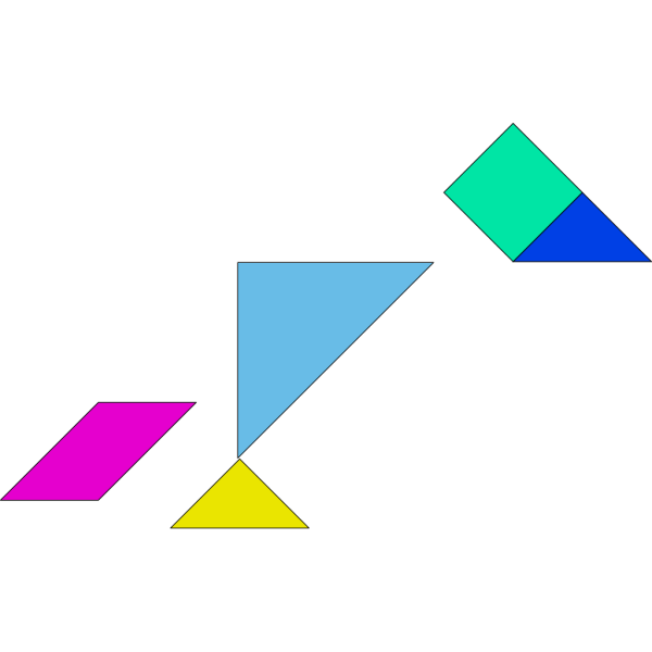 Tangram PNG Clip art