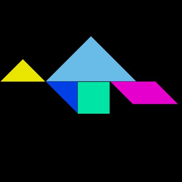 Tangram PNG icons