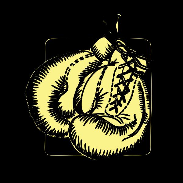 Boxing Gloves Outline PNG Clip art