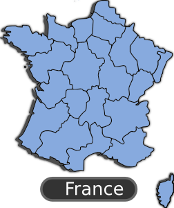 Map Of France PNG Clip art