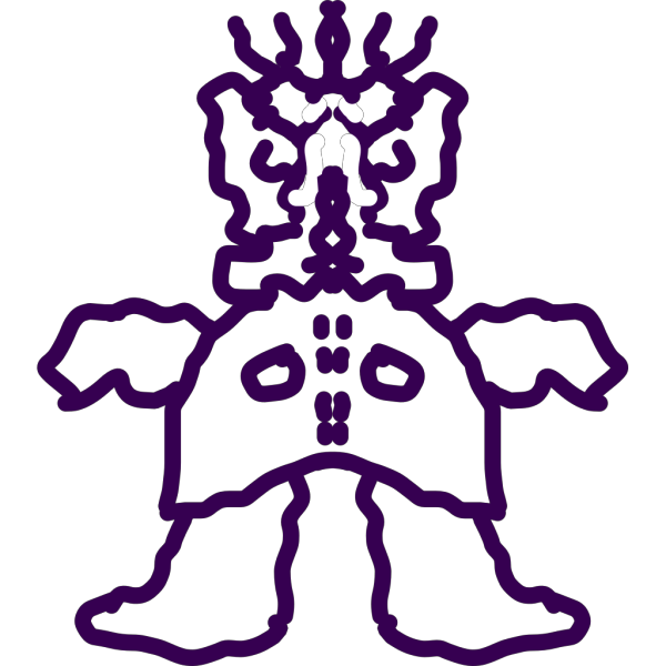 Mased Monster PNG Clip art