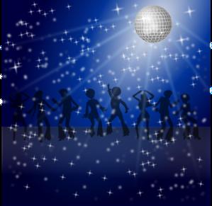 Disco Dancers PNG Clip art
