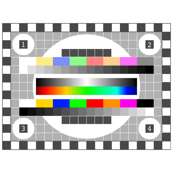 Tv Test Screen PNG Clip art