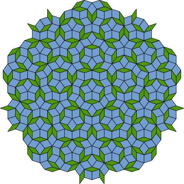 Penrose Tiling PNG Clip art
