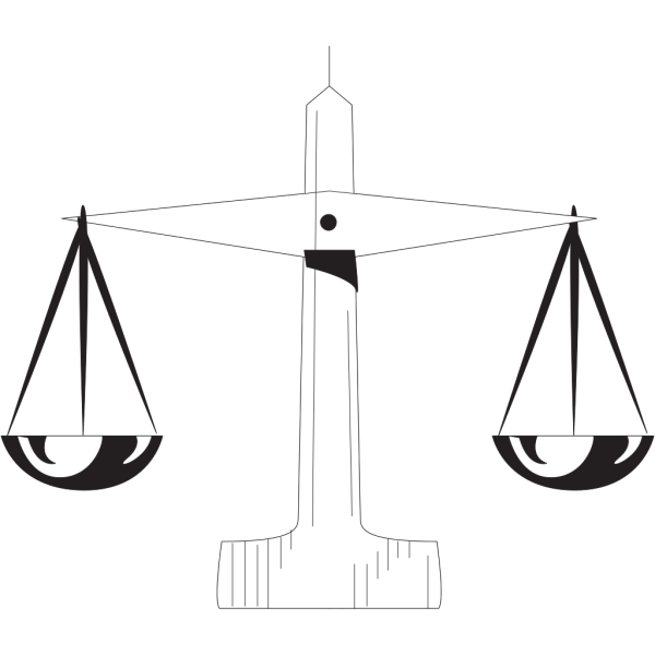 Scale Of Justice 1 PNG Clip art