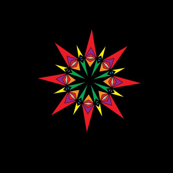 Kaleidoscope PNG Clip art