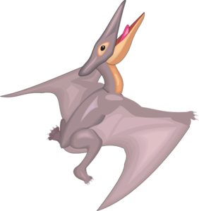 Pteranodon Taking Off PNG Clip art