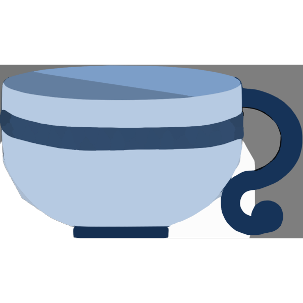 Cup Colored PNG Clip art