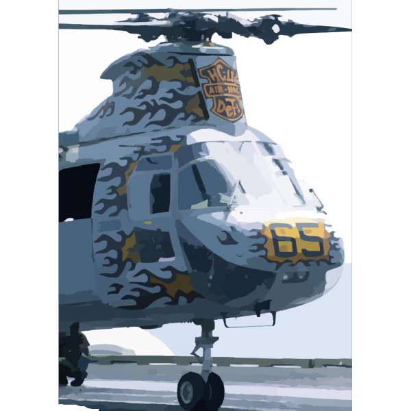 Ch-46 Sea Knight From Helicopter Composite Squadron 11 (hc-11). PNG Clip art