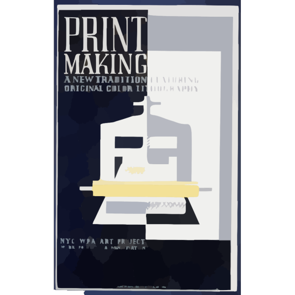 Print Making A New Tradition Featuring Original Color Lithography. PNG Clip art