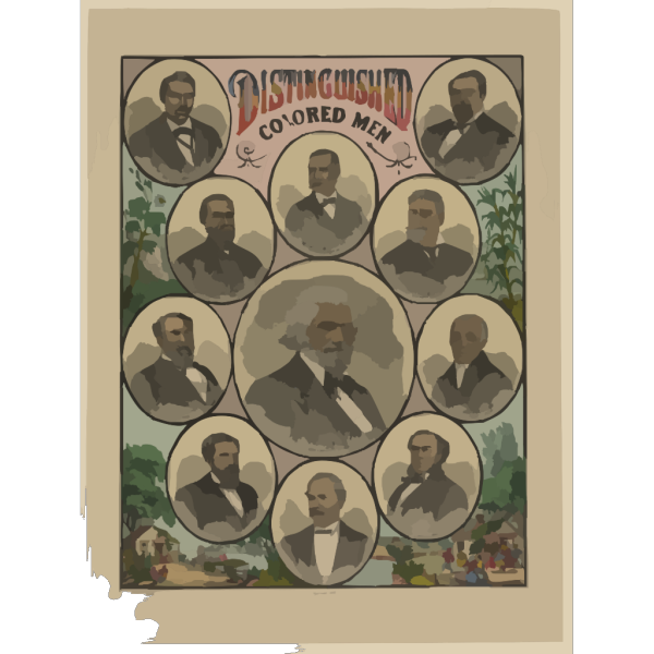 Distinguished Colored Men PNG Clip art