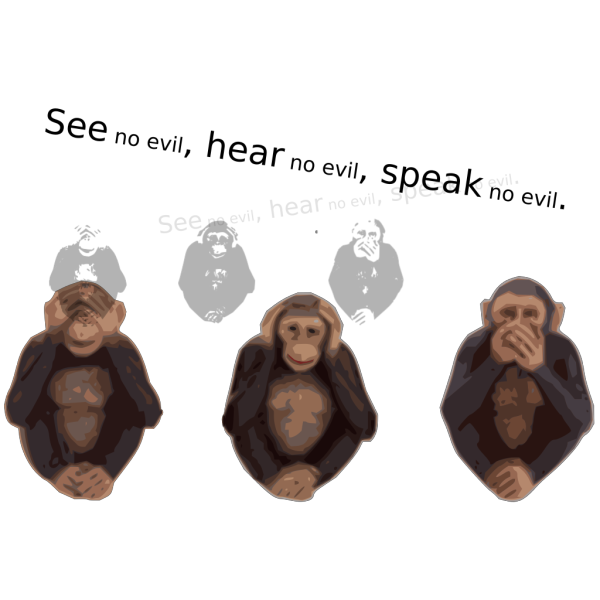 See No Evil Hear No Evil Speak No Evil PNG Clip art