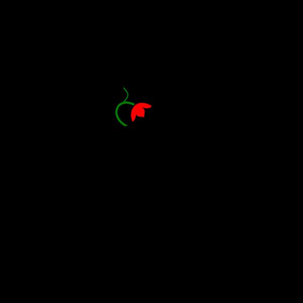 Flower Stem Color PNG Clip art
