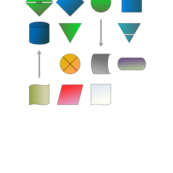 Flowchart Symbols PNG images