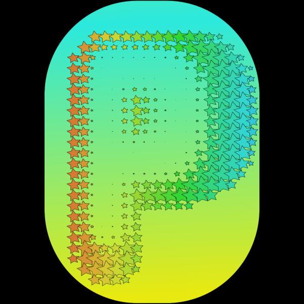 Letter P 3 PNG Clip art
