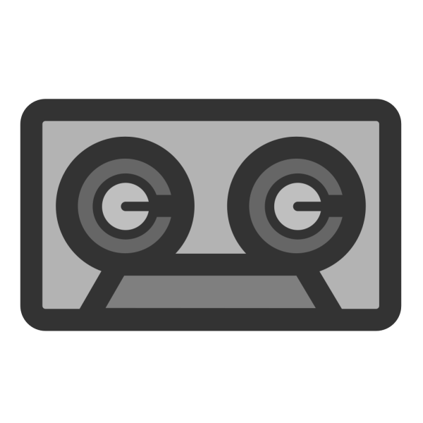 Cassette Audio Tape PNG clipart
