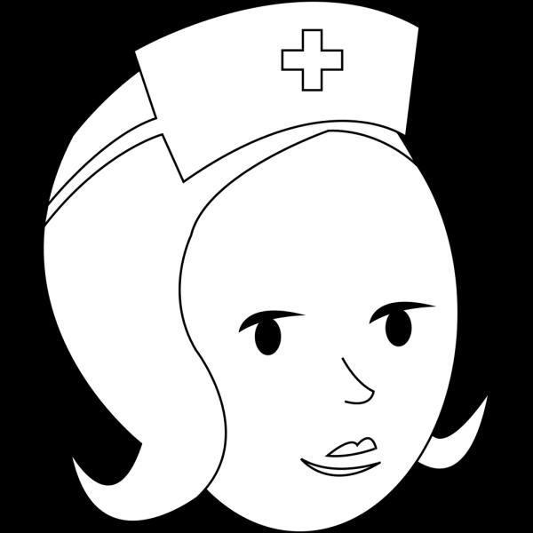 Nurse Outline PNG Clip art