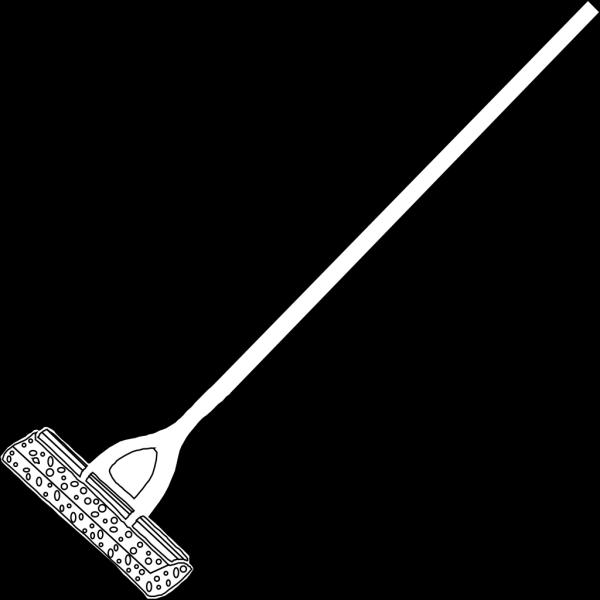 Mop Lineart PNG Clip art