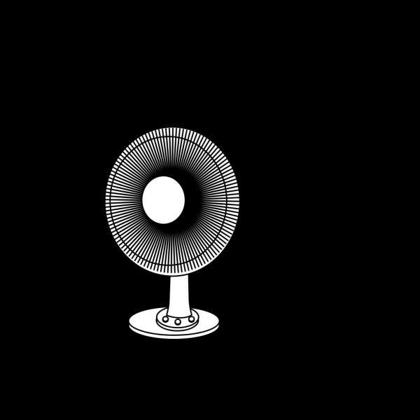 Ceiling Fan Outline PNG Clip art