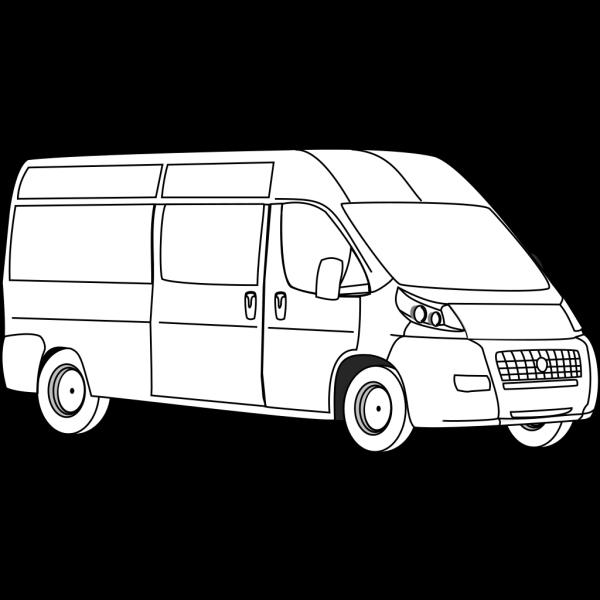 Van Outline PNG Clip art