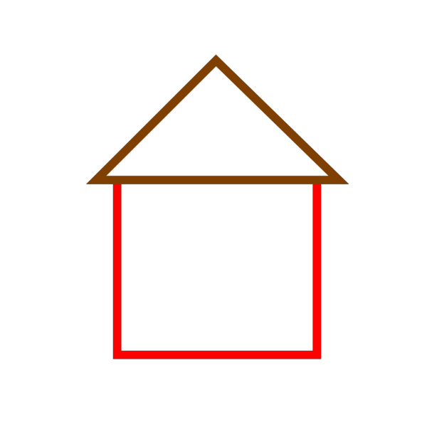 House Outline PNG Clip art