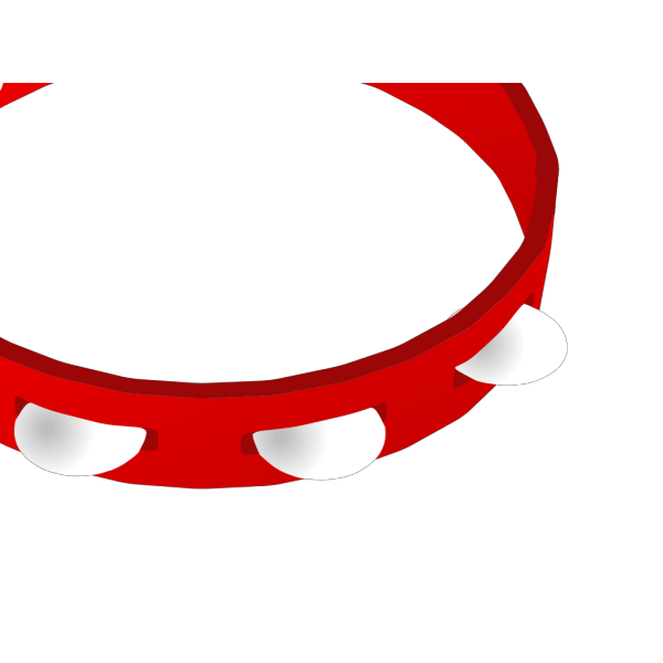 Tambourine Outline PNG Clip art