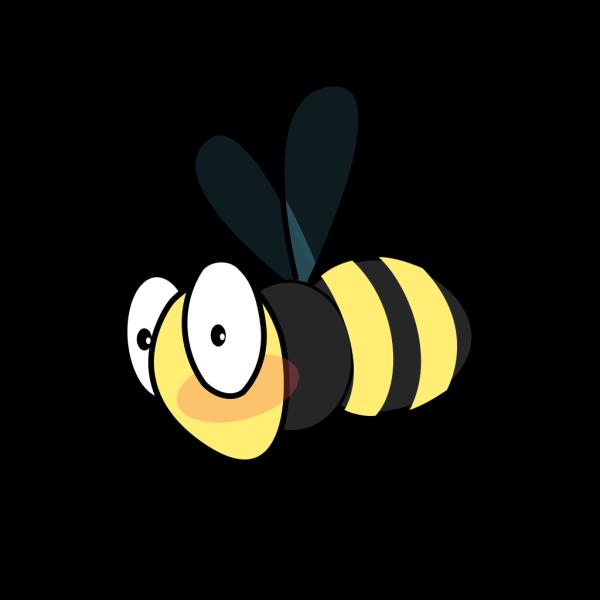 Bee Plain PNG Clip art