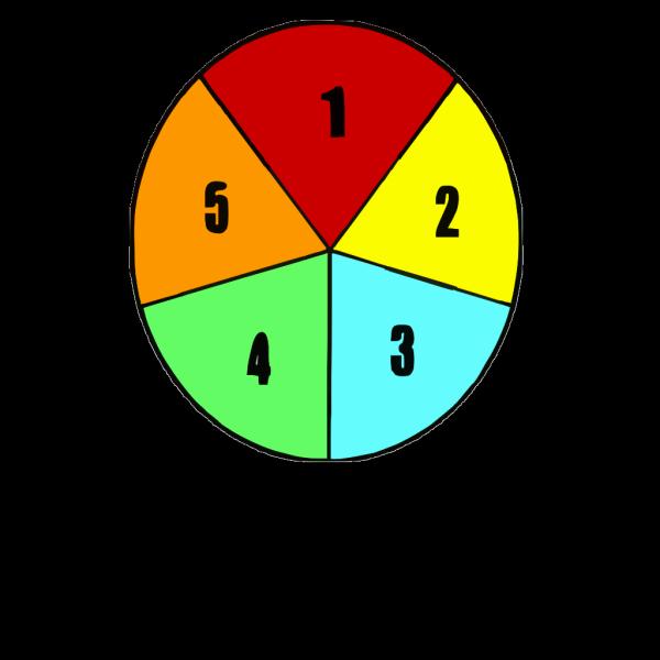Color Pentagram PNG images