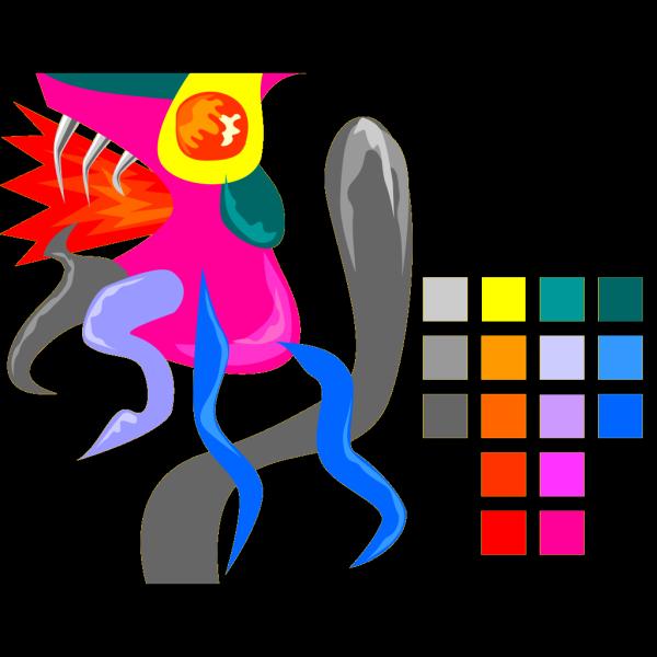 Colour Palette PNG Clip art