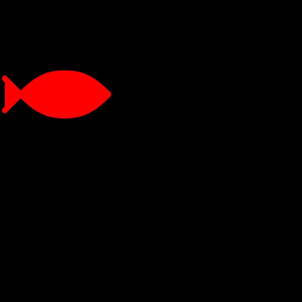 Orange Red Fish PNG Clip art