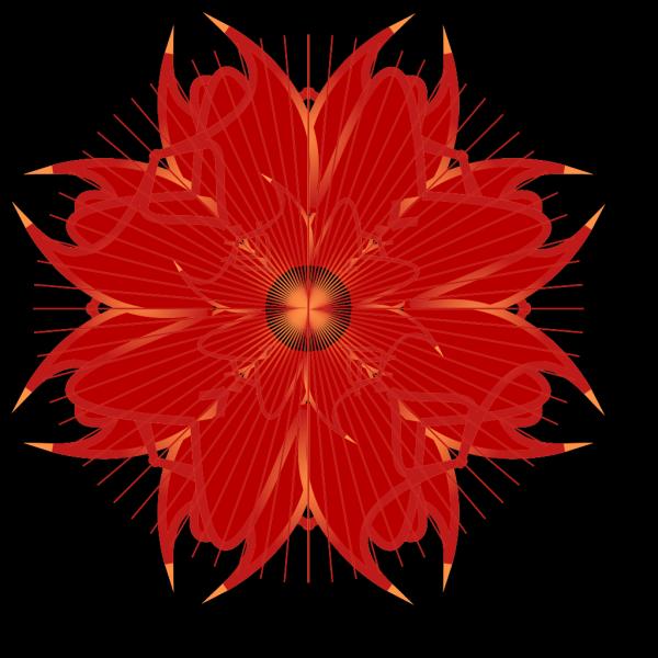 Colorful Rosette PNG Clip art