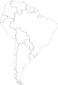 Continent Of South America PNG Clip art