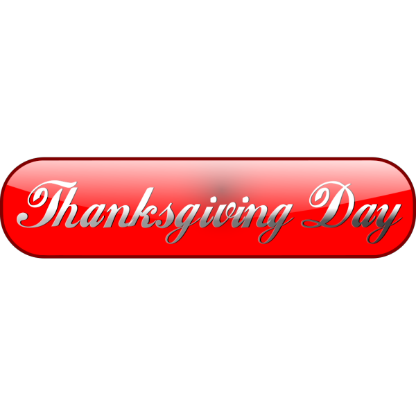 Happy Thanksgiving Day Sign PNG icons