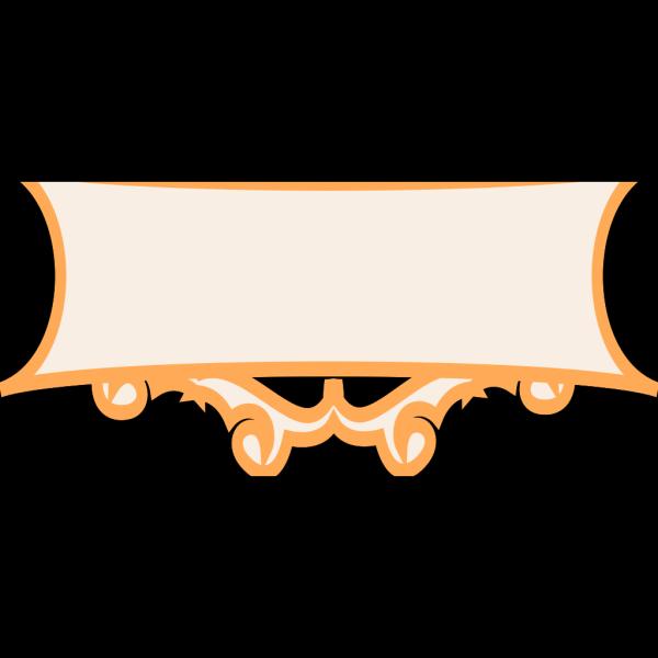 Orange Frame PNG Clip art