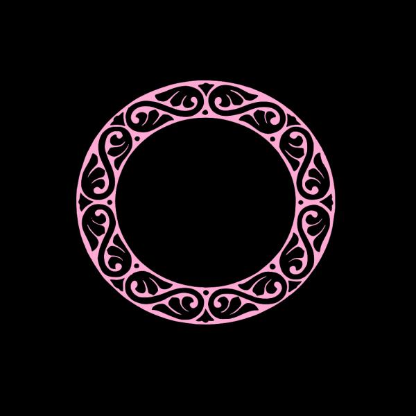 Pink Frame PNG Clip art
