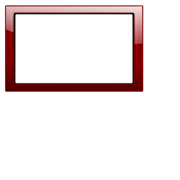 Red Frame PNG Clip art