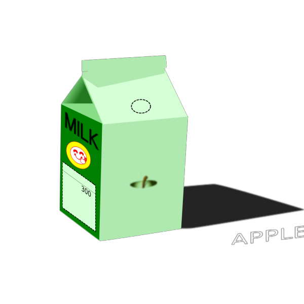 Apple Milk PNG Clip art