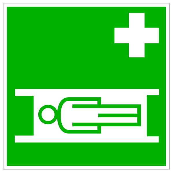 Green Emergency Hospital PNG Clip art
