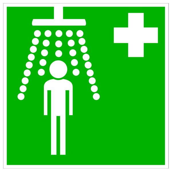 Green Hospital Cross With Man PNG Clip art
