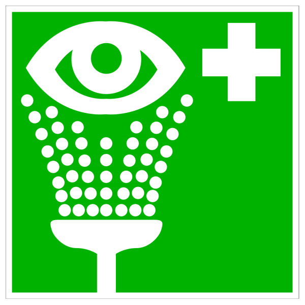 Green Hospital Cross With Eye PNG Clip art