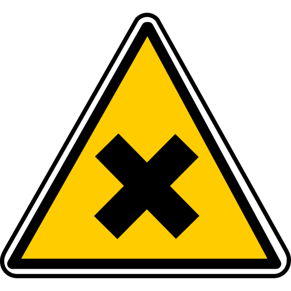 Warning - No Entrance PNG Clip art