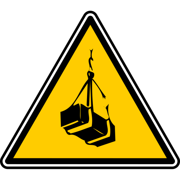 Warning - Crates Lift PNG Clip art