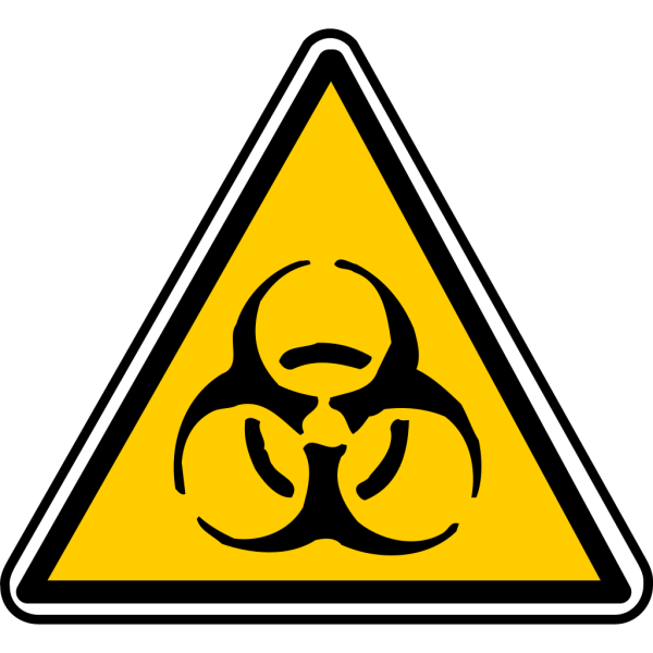 Warning - Bio-hazard PNG Clip art